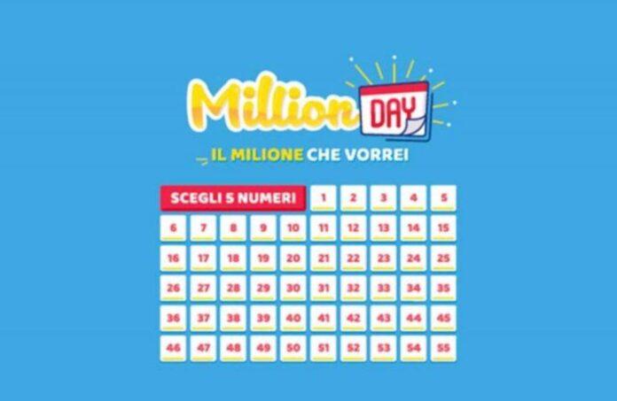 Million Day 8 febbraio: numeri estratti e ritardatari